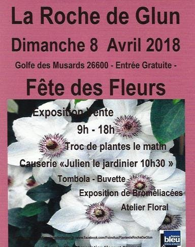 affiche fete des fleurs la roche guyon 2018