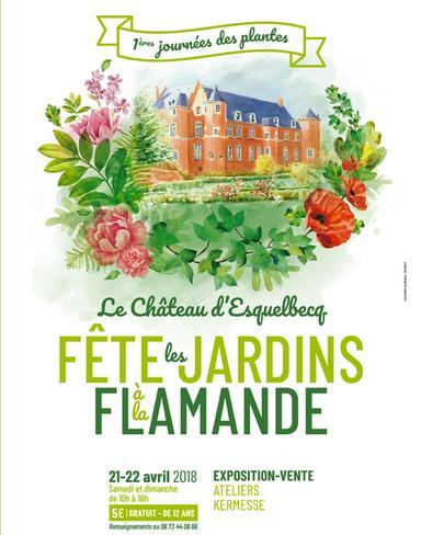 fete des jardins à la flamande au chateau d'esquelbecq