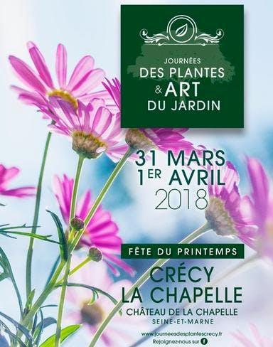 Affiche journées des plantes et art du jardin