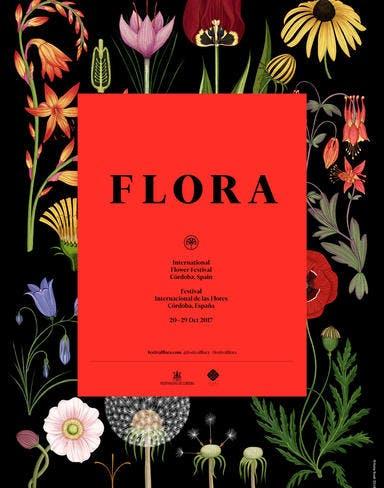 Affiche festival Flora