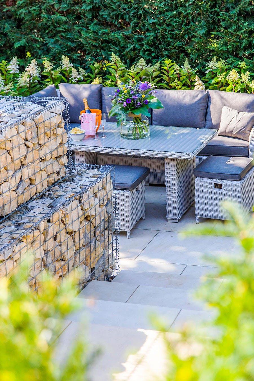 espace lounge jardin