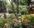 Terrasse fleurie de Michèle