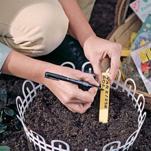 Étiqueter vos plantes
