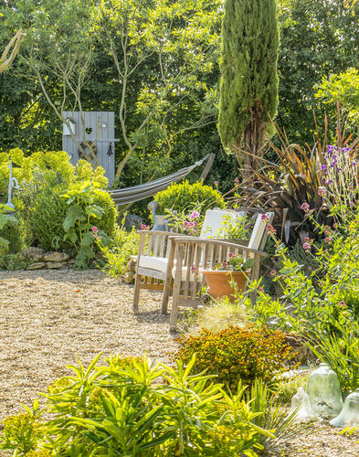 Un jardin mi-anglais mi-italien