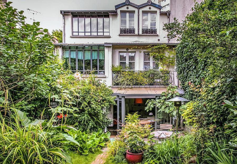 Jardin secret au Sud de Paris