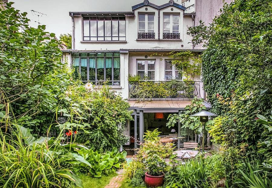 Jardin secret au Sud de Paris