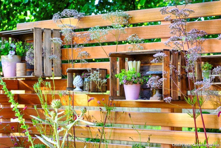 Aménagement d'une clôture végétale dans un petit jardin