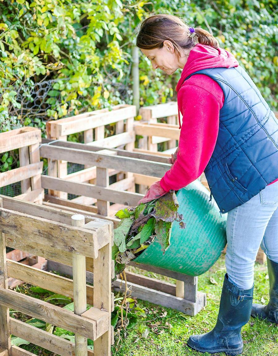 Gestion du tas de compost