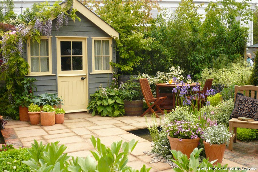 Trois astuces pour customiser son abri de jardin d tente - Comment decorer son jardin ...