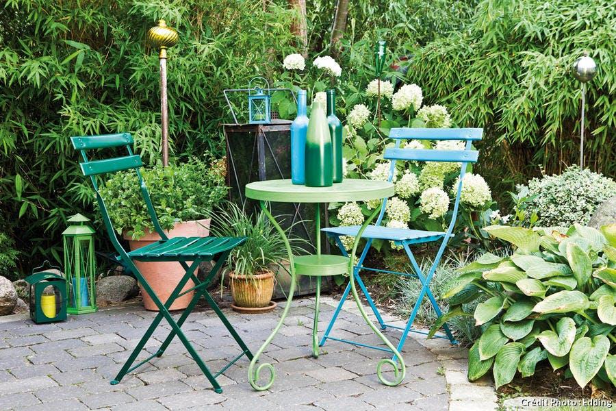 Relooker un salon de jardin - Détente Jardin