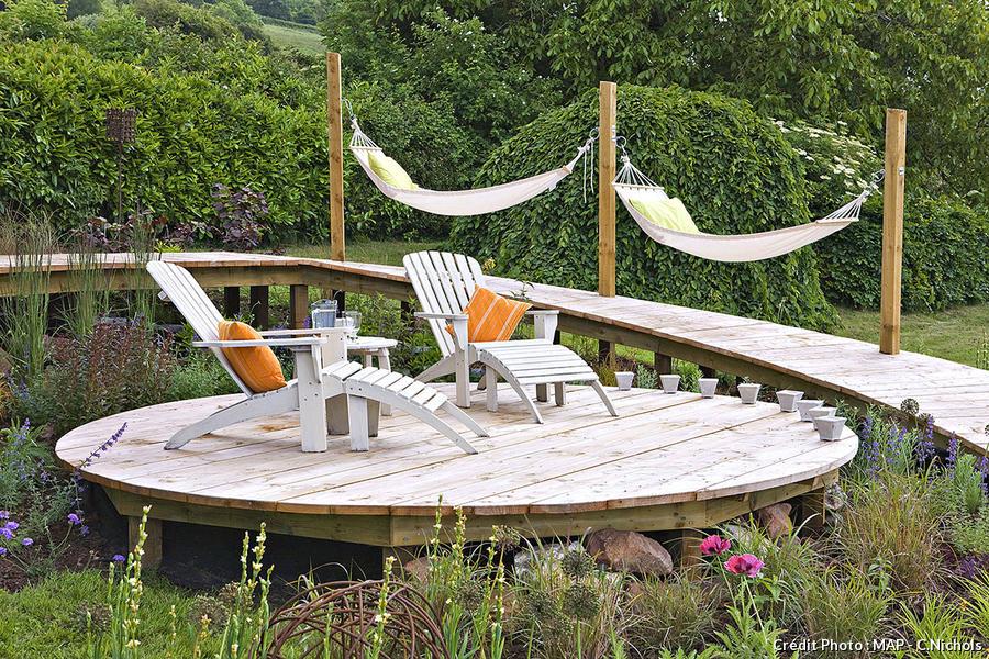 Pose terrasse bois (résultat)