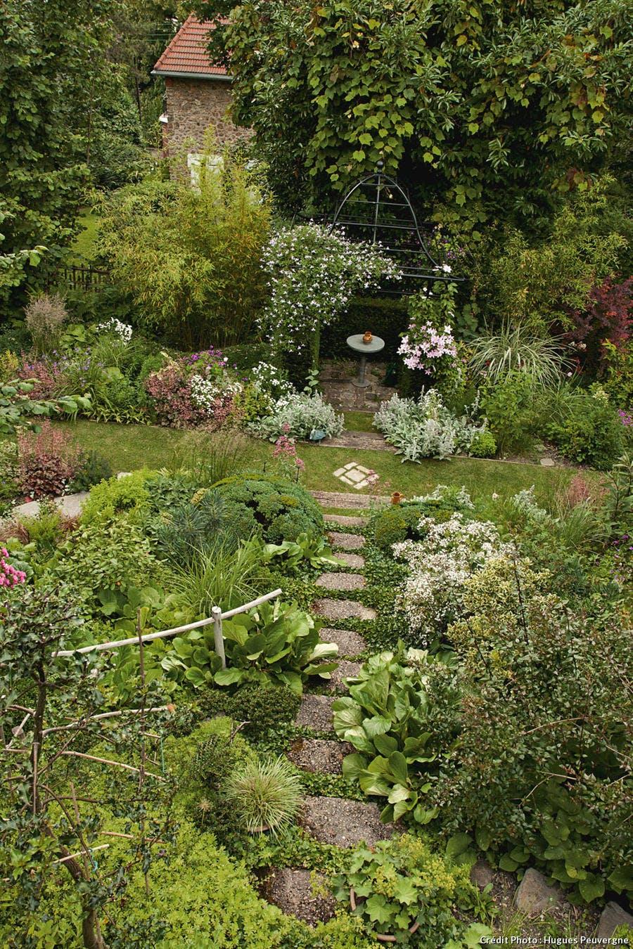 Jardin En Pente Comment Faire avant-aprÈs : aménager un chemin en pente - détente jardin