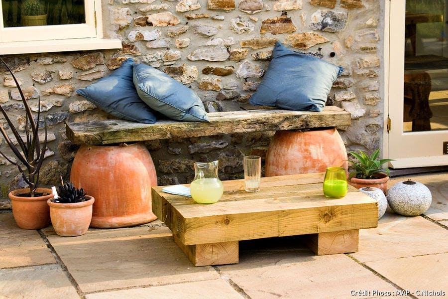 Salon de jardin pour l'été