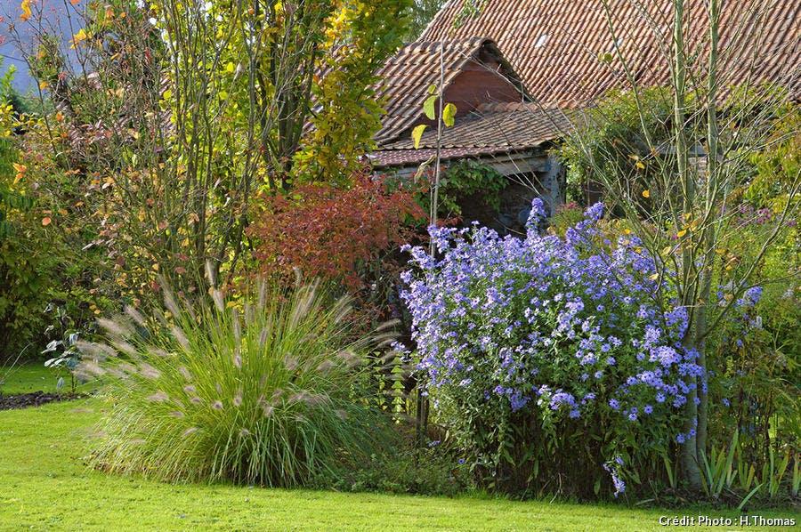Jardin dans un vallon de l'Artois