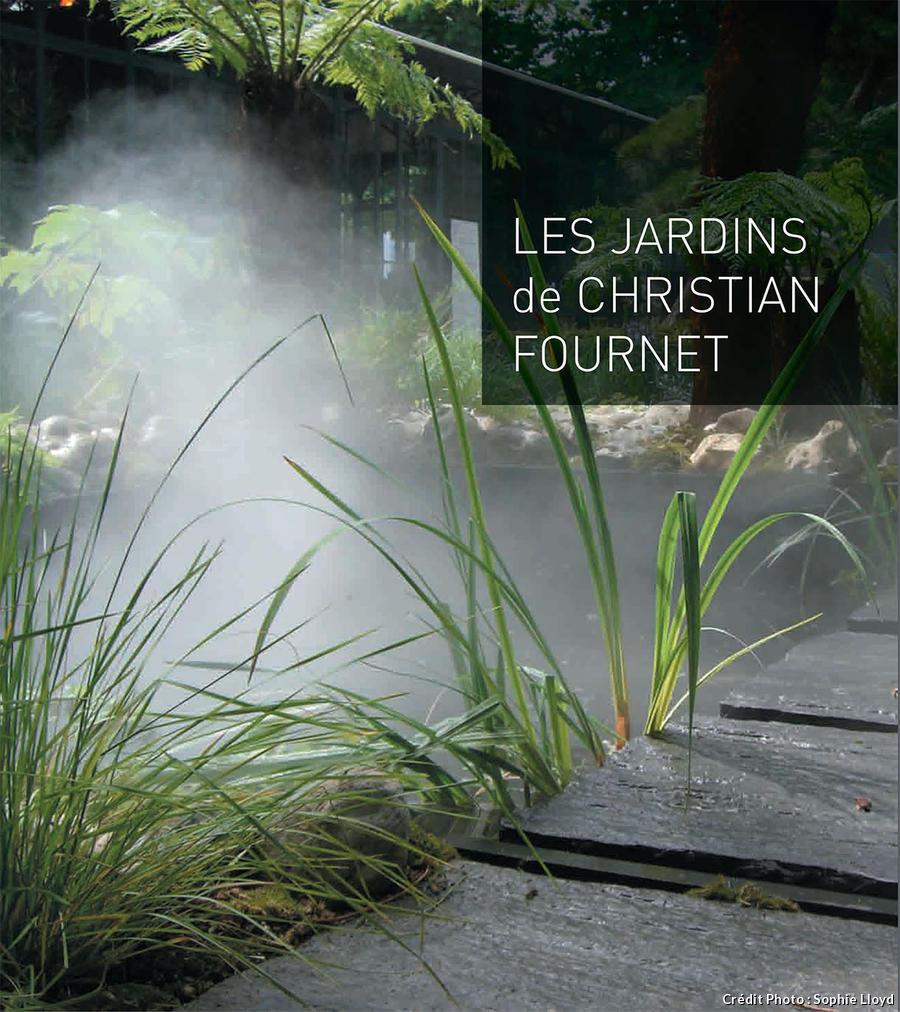 Couverture de Les jardins de Christian Fournet