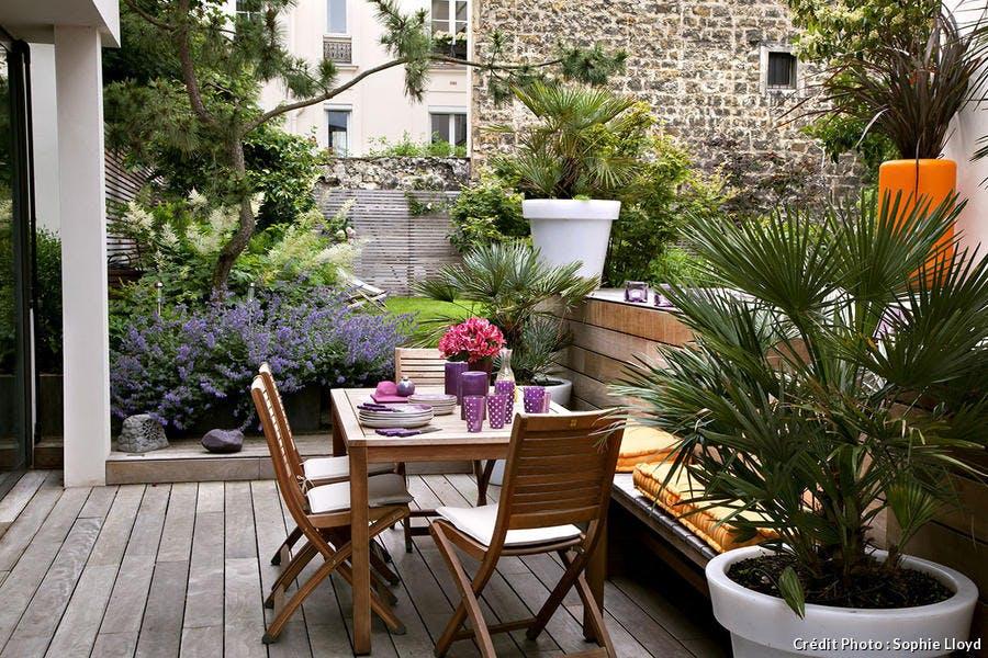 La terrasse, coin repas