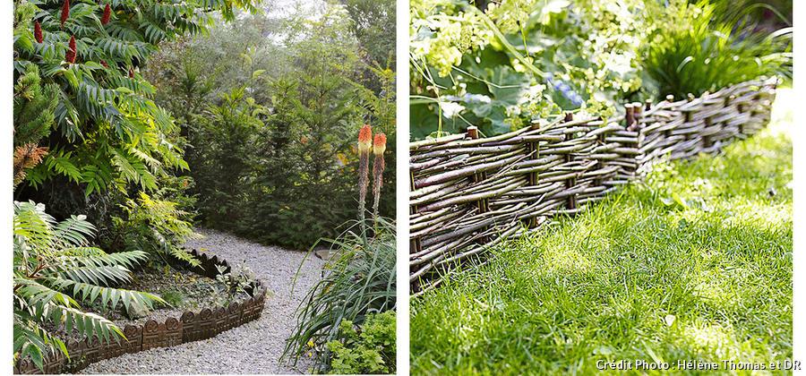 Bordures de jardin : 6 matériaux, 6 styles - Détente Jardin