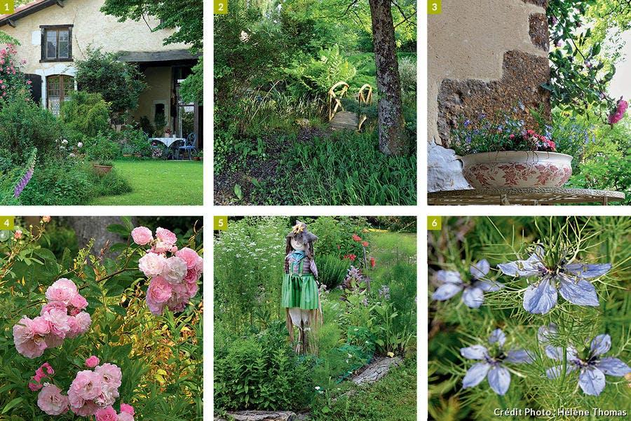 Éléments du jardin