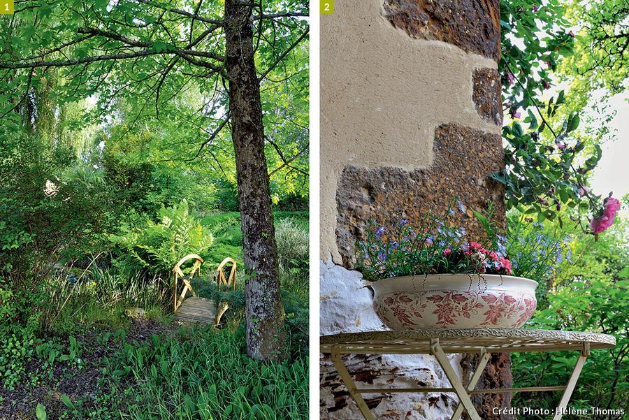 Petit pont de jardin