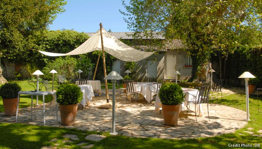 Terrasse du restaurant Le Bougainvillier