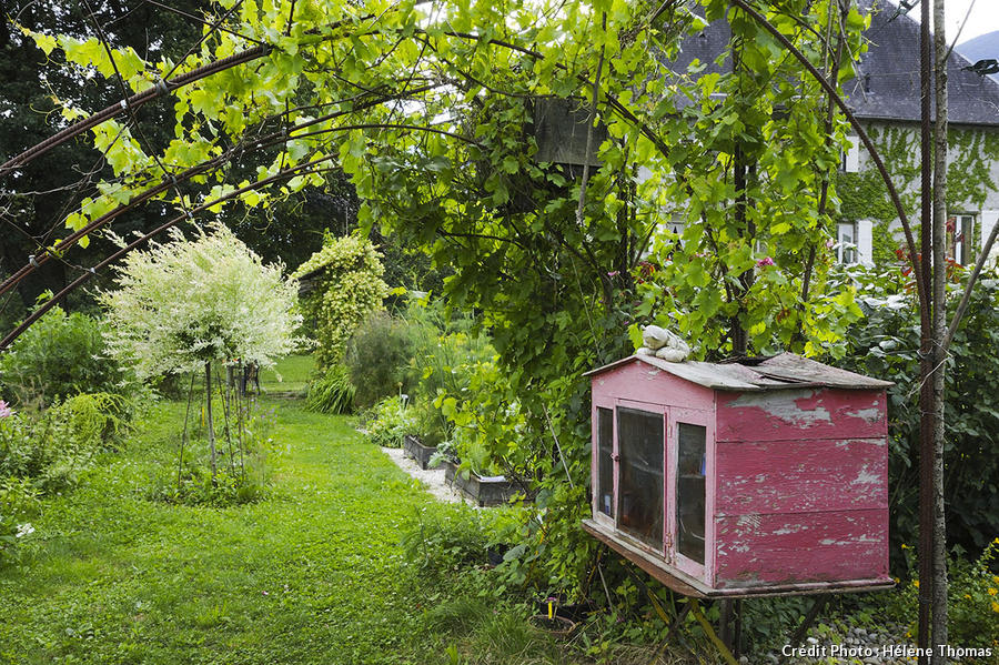 les allues jardin Savoie