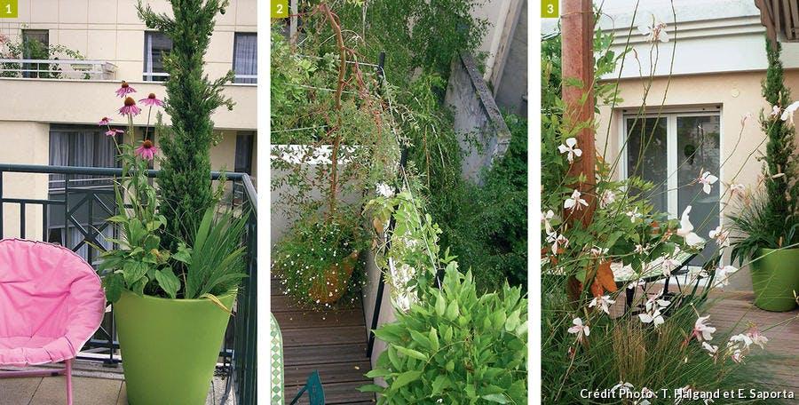 Éléments du balcon
