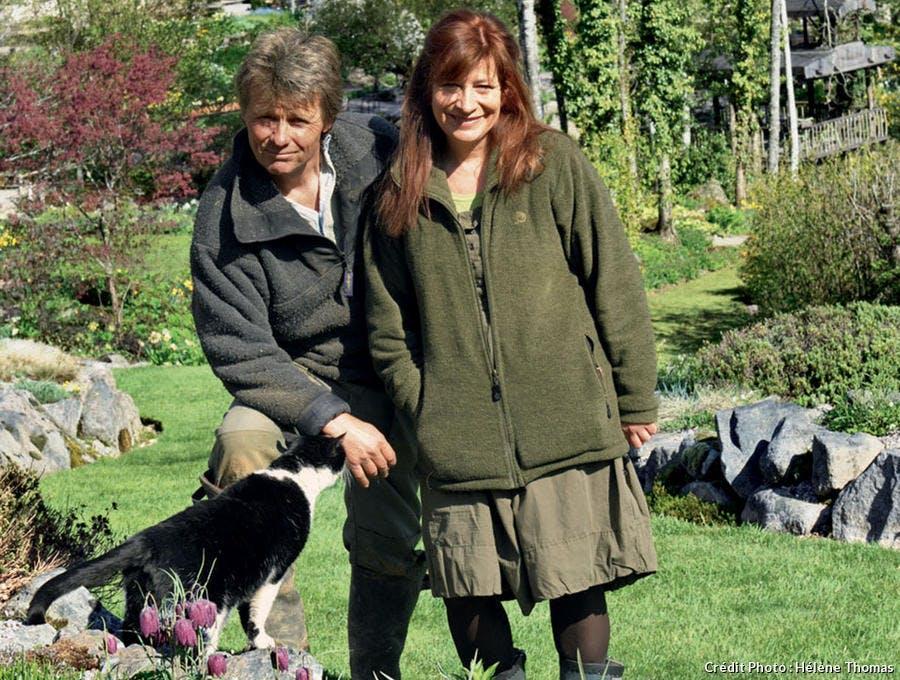 Monique et Thierry du jardin Berchigranges