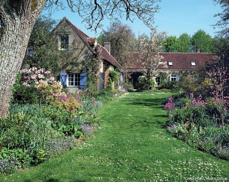 pelouse maison