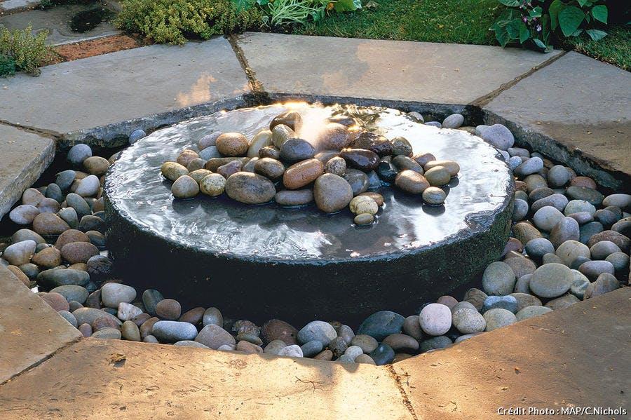Fontaine bouillonnante