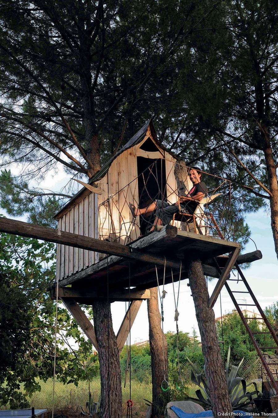 Une cabane en hauteur