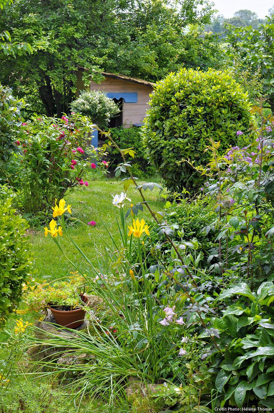 Cabane dans le jardin de Sara