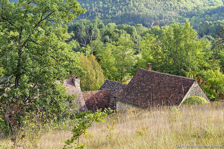 Jardins de l'Albarède, maison