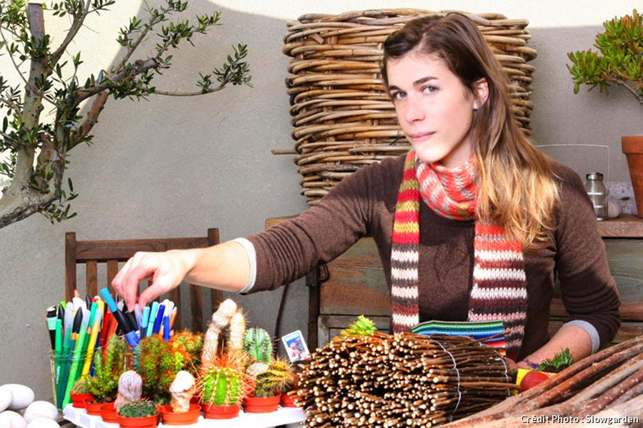 Relooking de terrasse à Marseille, la décoratrice Claire Delahaye.