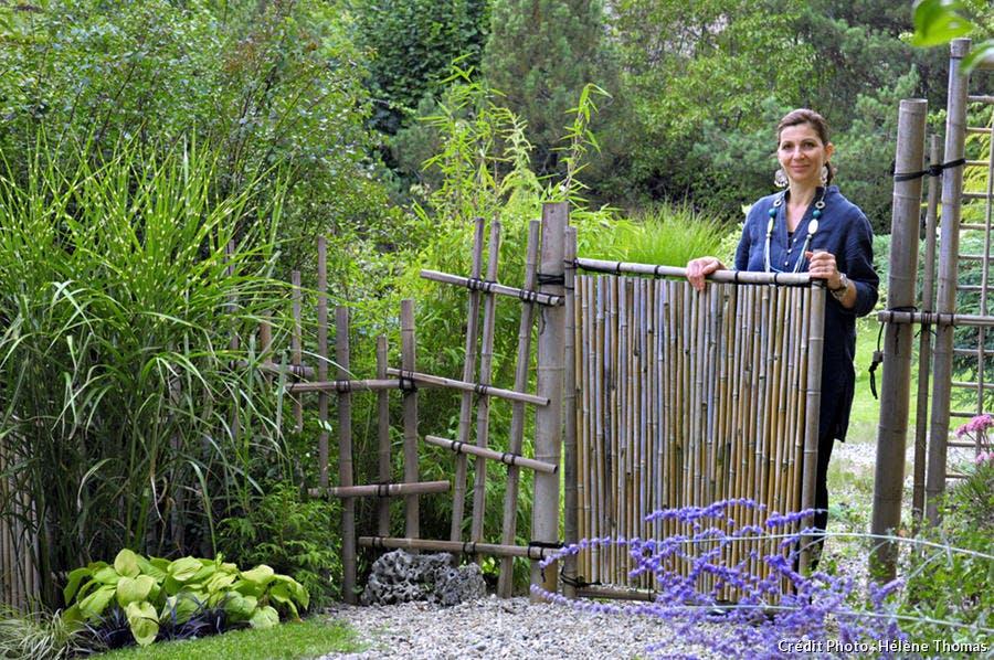 porte en bambous