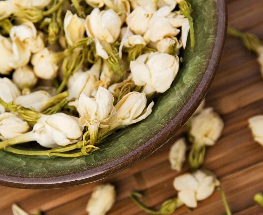 Fleur de jasmin pour le thé