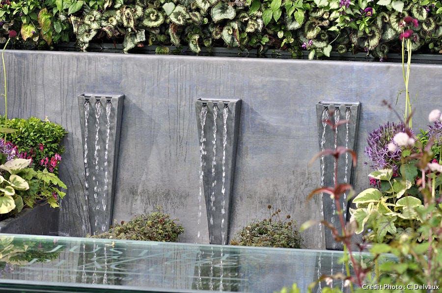 Fontaine en zinc