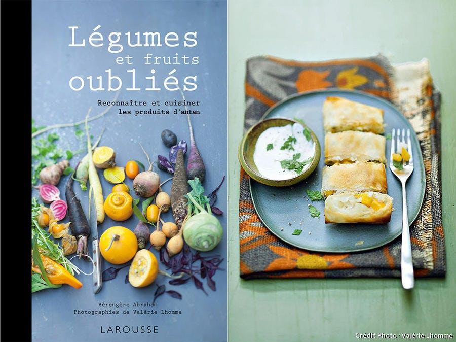 Couverture du livre et visuel de la recette
