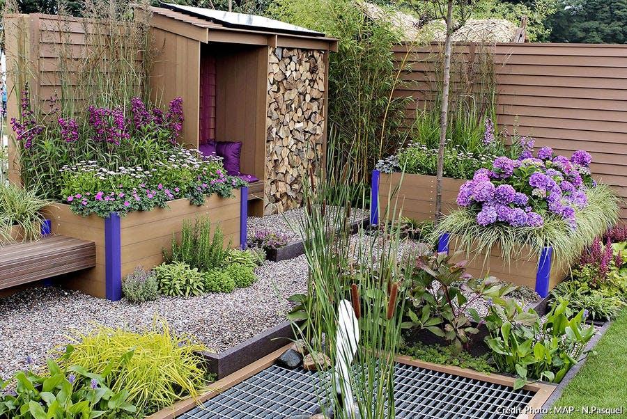 Un jardin dessiné par Tim Fowler