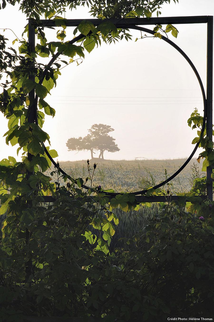 Fenêtre sur paysage