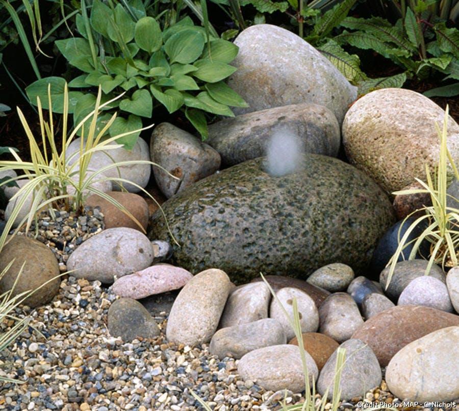 Fontaine zen et simple