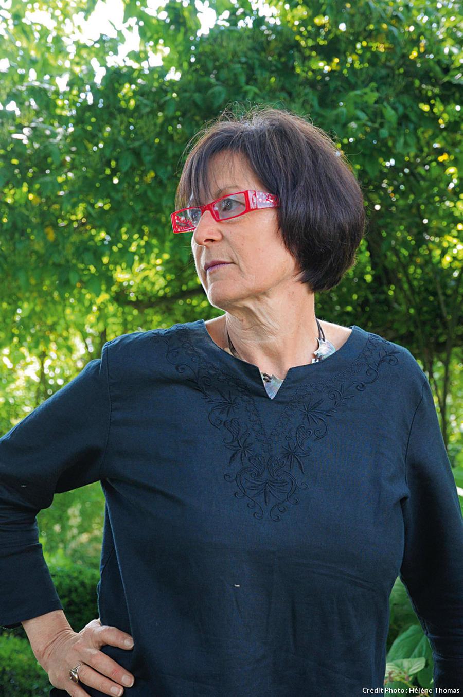 Martine, la propriétaire des lieux