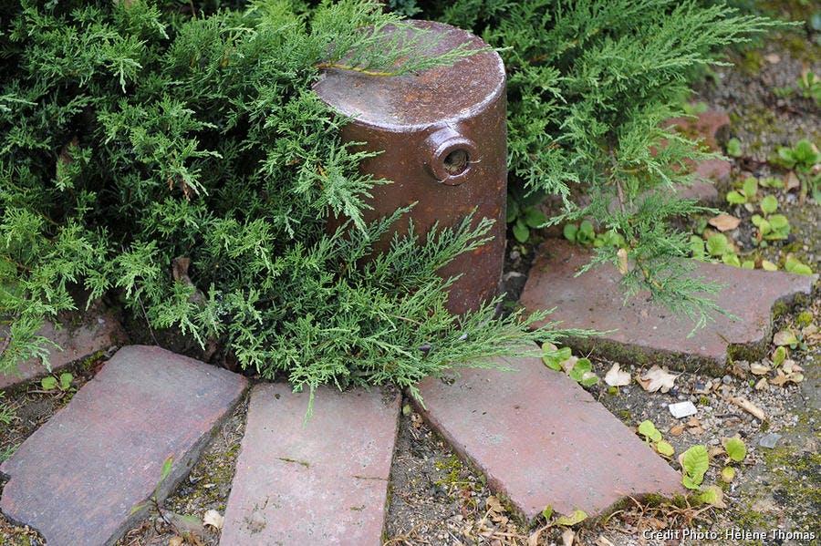 poterie ancienne jardin Loire