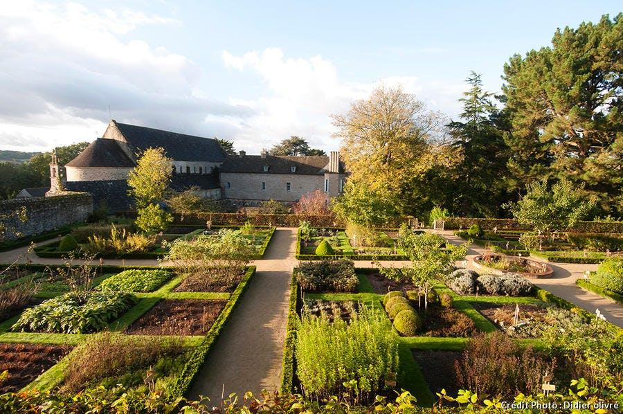 Jardin de l'Abbaye de Daoulas - Daoulas