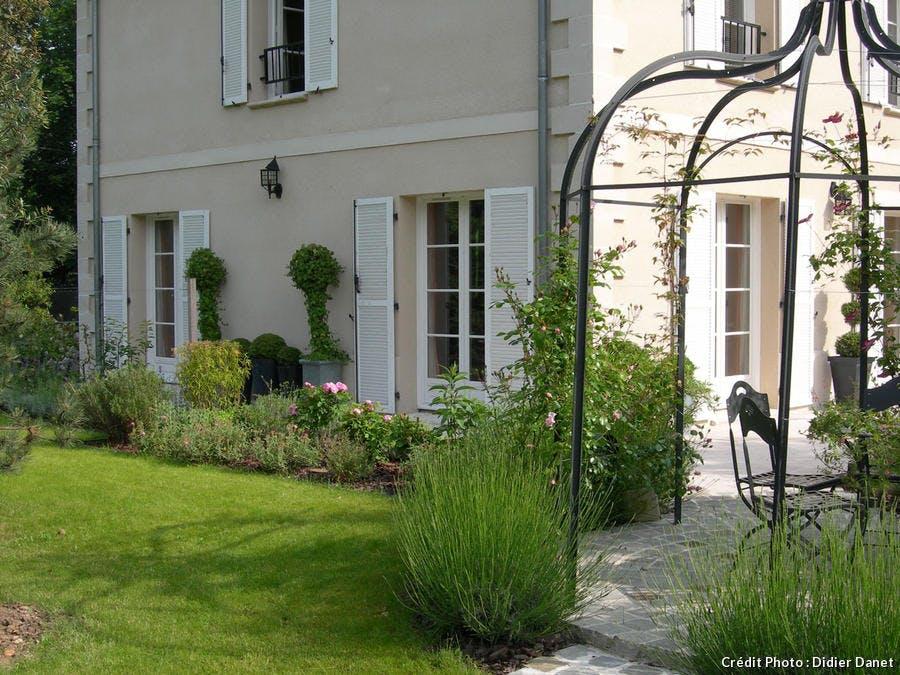 Terrasse végétalisée Danet