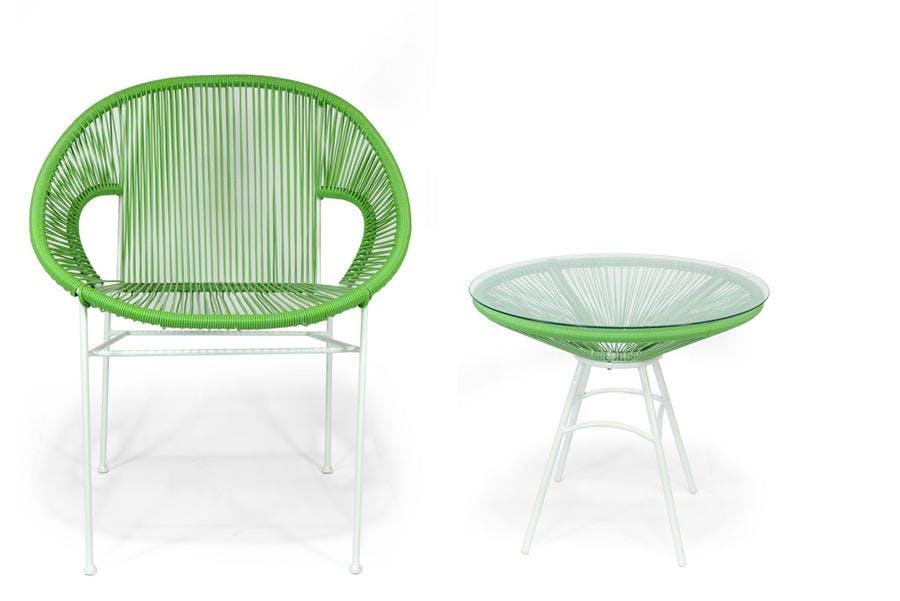 Chaise et table Livindeco