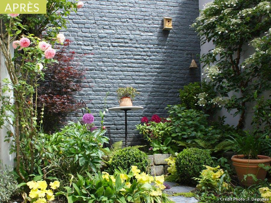 Avant-après : une petite cour transformée en cocon romantique ...