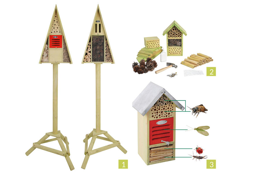 Hôtels à insectes Esschert Design