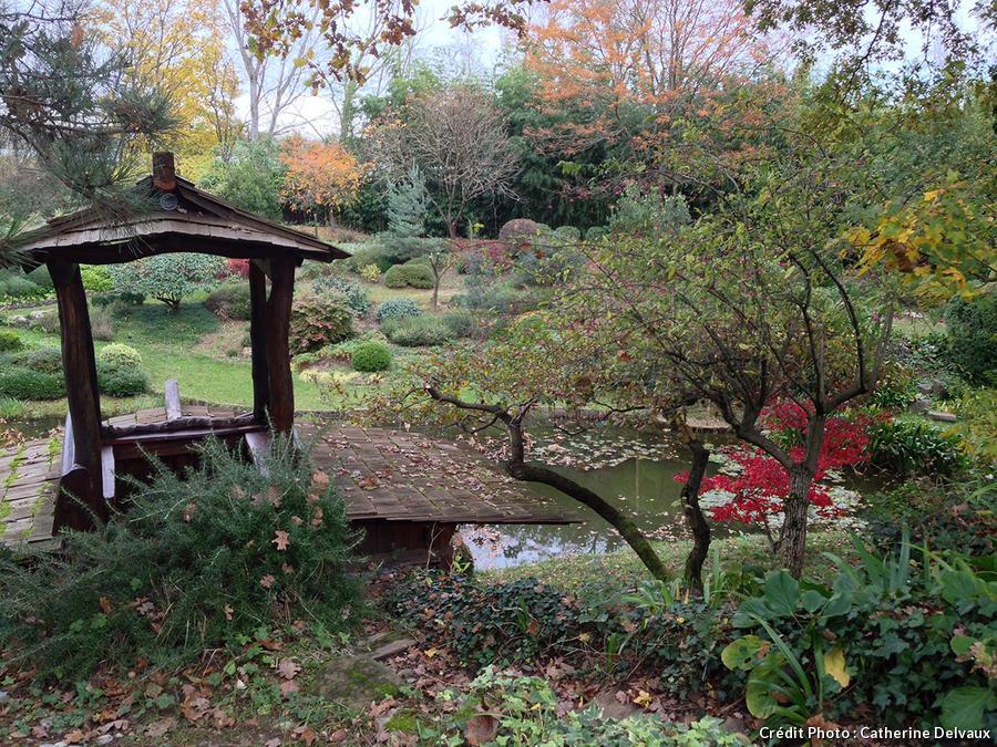 Le pavillon de thé des jardins zen d'Erik Borja