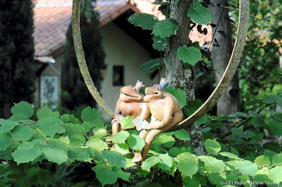 Poterie animalière Jardin poterie Hillen