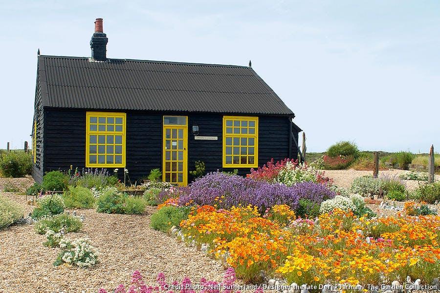Jardin Prospect Cottage au Royaume-Uni